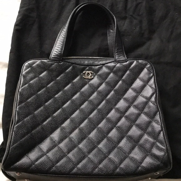 a5a6e9122566 CHANEL Bags | Black Caviar Satchel | Poshmark